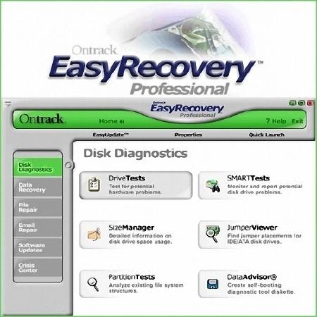 EasyRecovery Professional Бесплатно 6.20 Rus