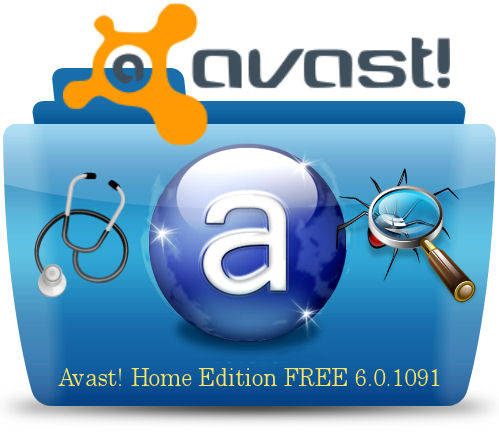 Программа Avast! +Home Edition +6.0.1091 +FREE Antivirus +ML +Rus +Uk