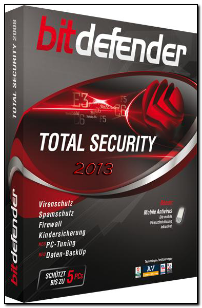 Скачать Bitdefender Total Security 2013 16.24.0.1682